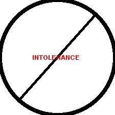 No Intolerance