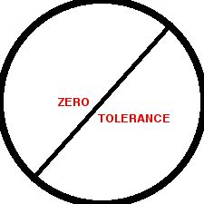 No Zero Tolerance